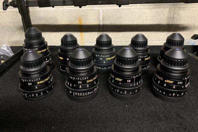 ARRI / Zeiss Ultra Primes (6-Lens Set)