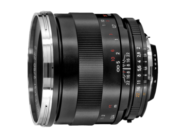 Rent: Zeiss ZF converted Cine Lens Set 21-25-35-50-85 (EF Mount)