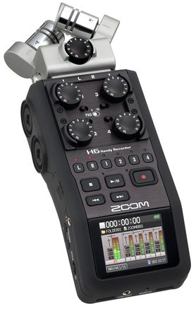 Rent a Zoom H6 Audio Recorder, Best Prices | ShareGrid Los Angeles