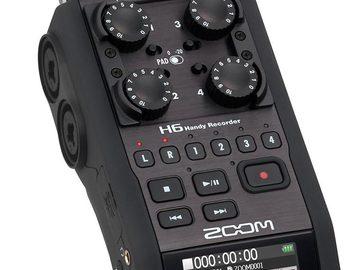 Rent: Zoom H6 Audio Recorder