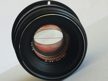 Rent: Helios 44-2 (58mm) with EF Adaptor