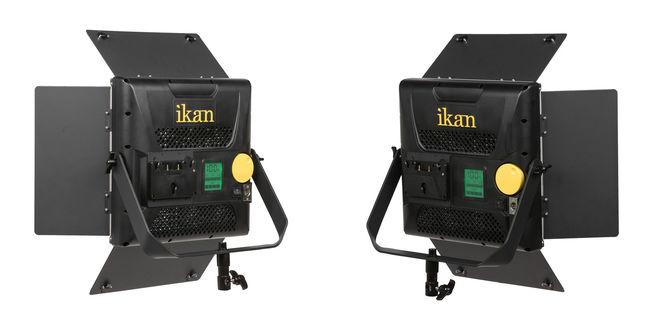 Set of Two: Ikan Lyra 1 x 1 Soft Panels LED 3200K-5600K