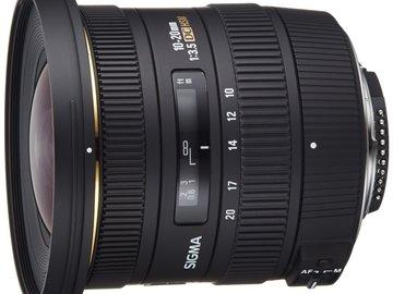 Rent: Sigma 10-20mm f/3.5 EX DC HSM NIKON DX