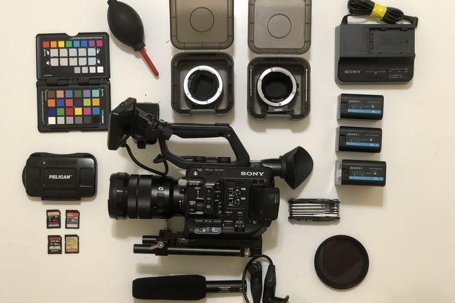 Sony PXW-FS5 XDCAM Super 35 Camera