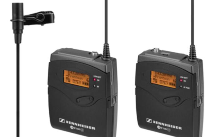 Sennheiser ew 100 ENG G3 Wireless Kit with Pelican Case