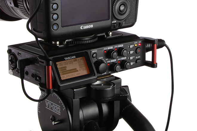 Tascam DR-70D 4 Channel Audio Recorder