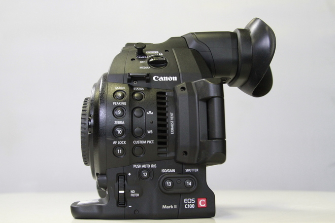 Canon C-100 Mark II Body only