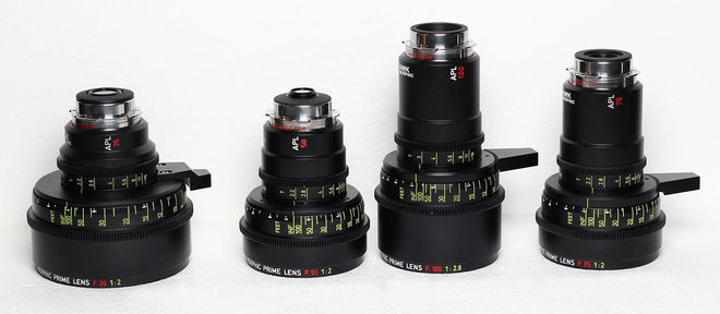 Hawk C-Series 2x Anamorphic Prime Set