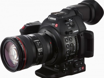 Rent: Canon C100 MK II Package