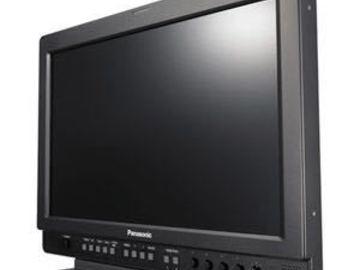 """Rent: Panasonic 17""""LCD Monitor x2"""