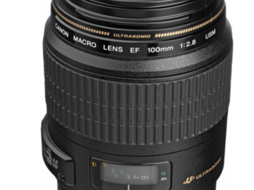 Rent: Canon EF 100mm f/2.8 Macro USM Lens