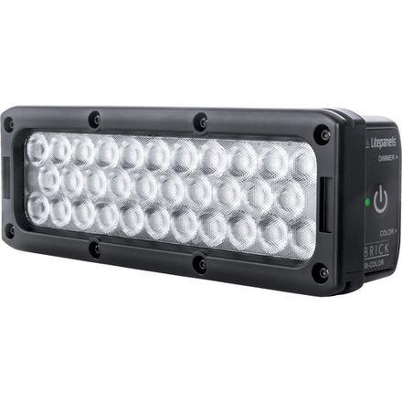 LITEPANEL BRICK ON CAMERA BICOLOR LED LIGHT, P-TAP W/NOGA