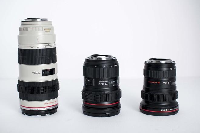 Canon L series zoom set