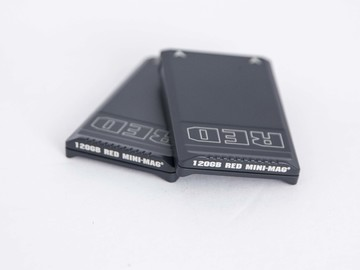 Rent: 2 - RED 120 GB mini mags