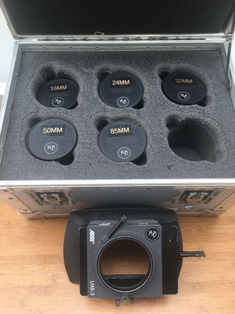 Zeiss Standard Speeds MKII T2.1 Set 16,24, 32, 50, 85mm