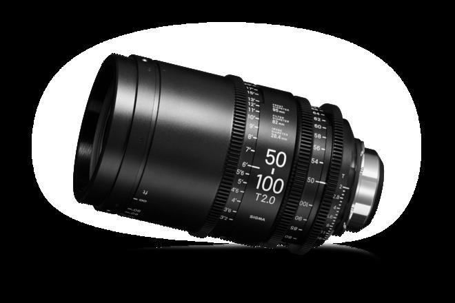 Sigma Cine 50-100mm T2 PL and EF Mount