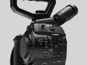 Rent: Canon EOS C300 EF Kit (2 Available)