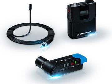 2 Wireless Lav Mic Kits - Sennheiser AVX MKE2