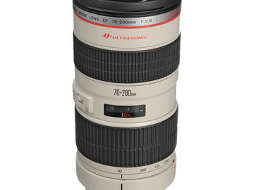 Rent: Canon EF 70-200mm f/2.8 L USM Lens
