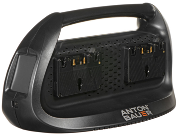 Anton Bauer Performance Series Quad Charger Gold Mount