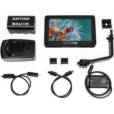 "SmallHD Focus 5"" + Sony NP-FW50 Bundle + 3 Batteries"