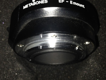 Rent: Metabones Canon EF Lens to Sony E Mount Smart Adapter FS7 A7