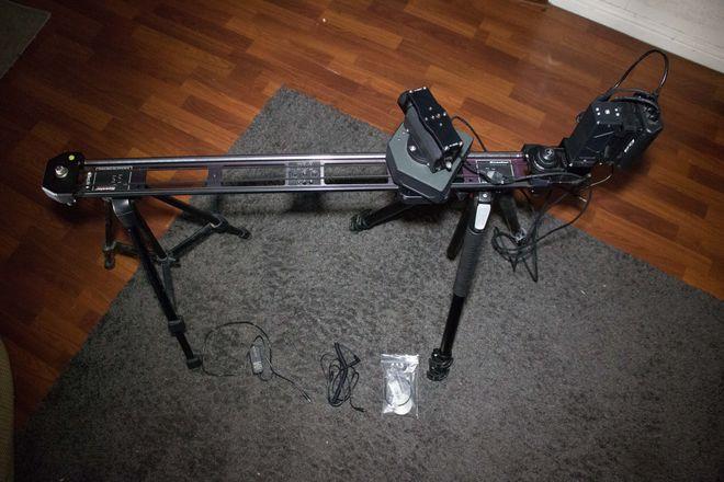 Kessler Second Shooter 3-Axis W/ Slider & Tripods
