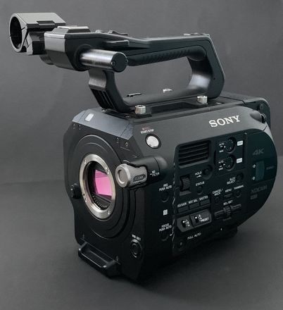 Sony FS7 with, Metabones, Cards and accessories