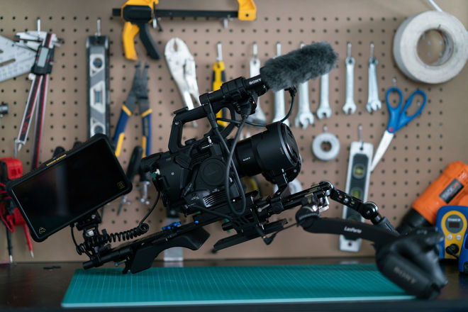 Sony PXW-FS5 XDCAM Super 35 Raw Camera Kit