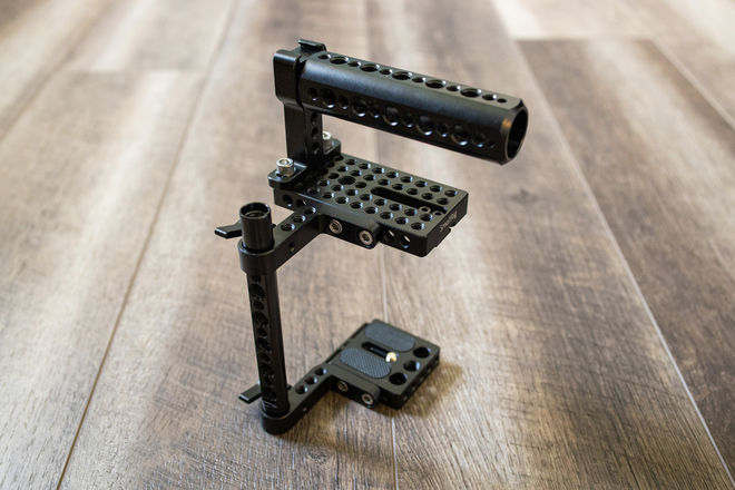 Universal Half Cage for DSLR's and Mirrorless Cameras
