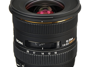 Rent: Sigma 10-20mm f/4-5.6 EX DC HSM EF Mount