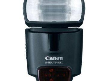 Rent: Canon Speedlite 430EX Flash Mk I