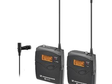 Rent: (2) - Sennheiser ew 100 ENG G3 Wireless Kit A + B