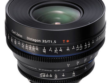 Zeiss Compact Prime CP.2 35mm/T1.5 Super Speed