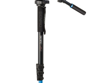 Rent: Benro A48FBS6 Video Monopod Kit with Head