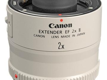 Rent: Canon Extender EF 2X II