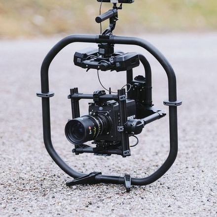 FreeFly MoVI Pro Gimbal with batteries