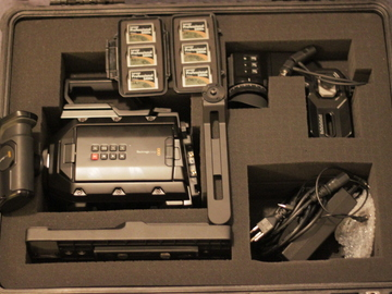 Rent: Blackmagic Ursa Mini 4.6k Package