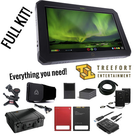 Atomos Sumo 19-in 4K Monitor and Recorder Kit with SSDs