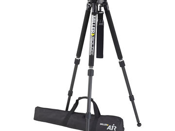 Rent: Miller Air Carbon Fiber Tripod System