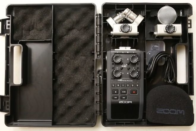Zoom H6 Handy Recorder w/ Interchangeable Microphone System