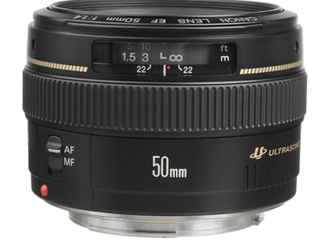 Rent: EF 50mm f/1.4 USM Lens