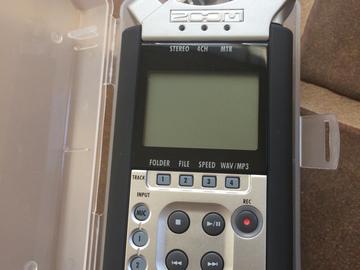 Rent: H4n Handy Recorder