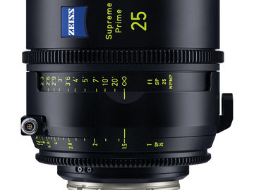 Zeiss Supreme Prime 25mm T1.5