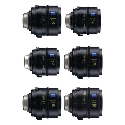 Zeiss Supreme Primes T1.5 (SET OF 6)