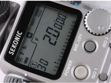 Rent: Sekonic L-608 Cine Super Zoom Light Meter