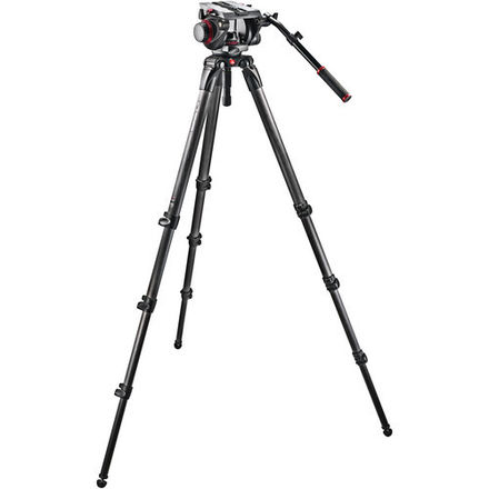 Manfrotto 536 Carbon Fiber Tripod with 509HD Video Head