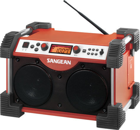 Ultra Rugged Boombox Stereo Receiver - Sangean Fatbox