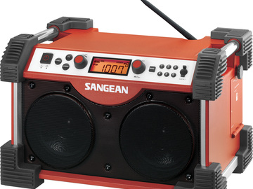 Rent: Ultra Rugged Stereo Receiver - Sangean Fatbox