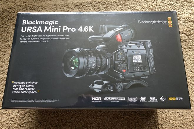 BRAND NEW Blackmagic URSA Mini Pro G1